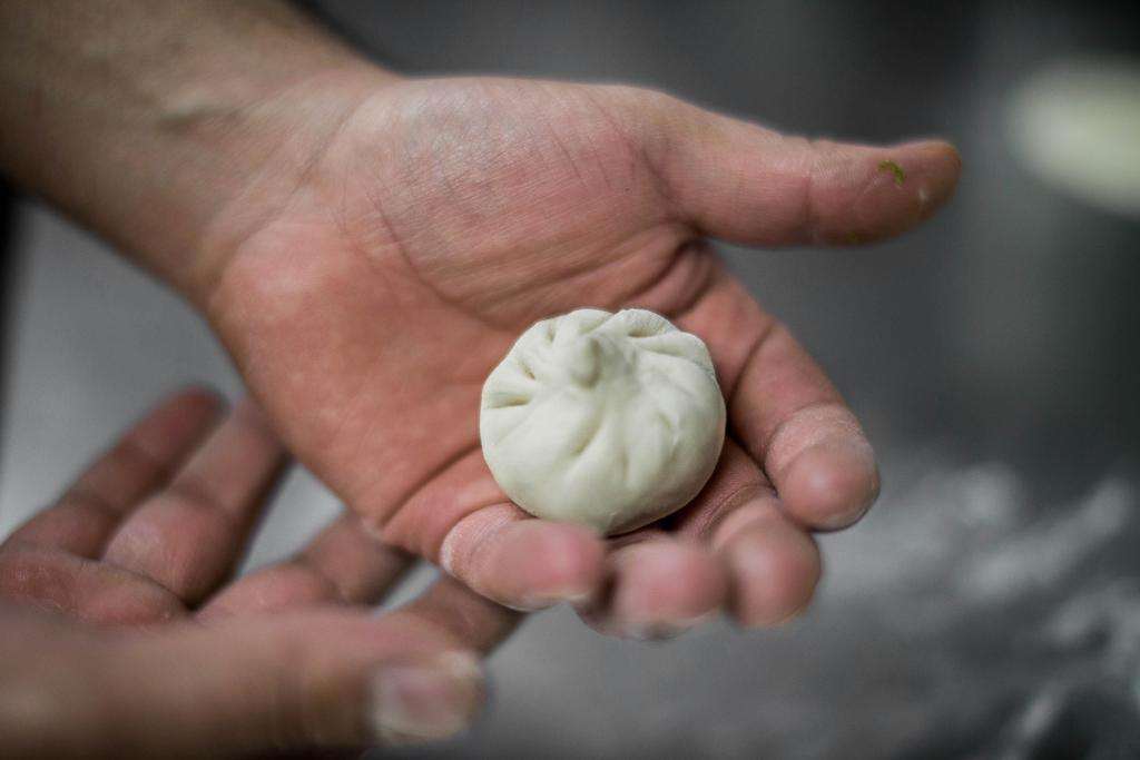 Shengjianbao - Mini bao de cerdo y col china